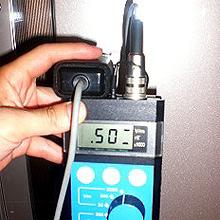 冷蔵庫:500V/m