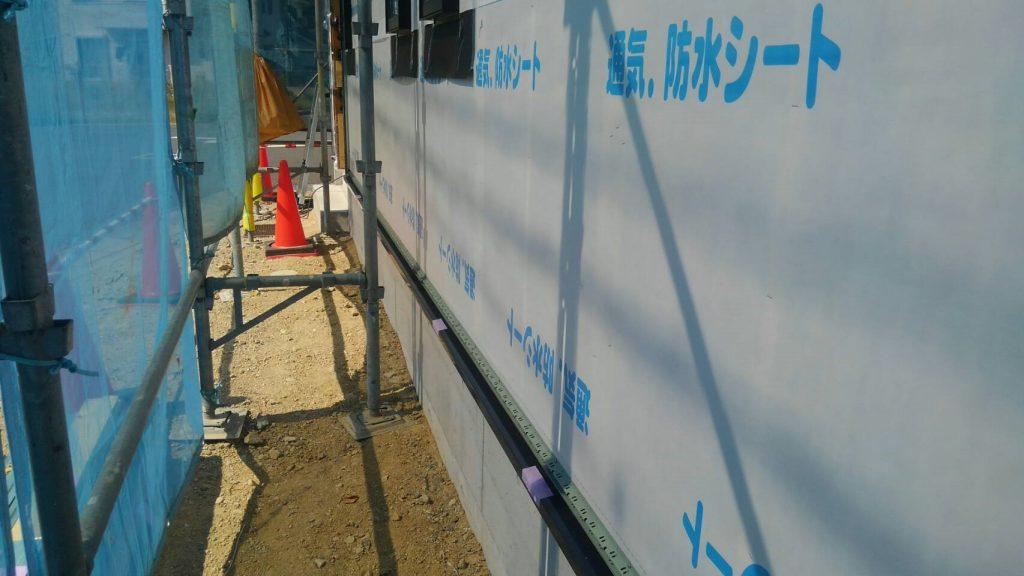 サイディング工事②